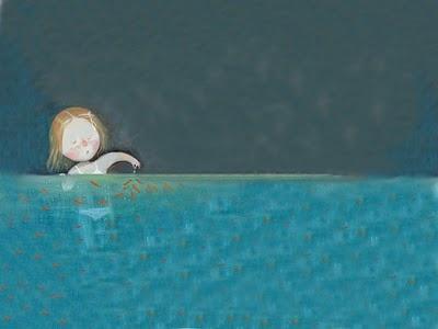 Goldfish in Painting. Yevgenia Gapchinska. Goldfish