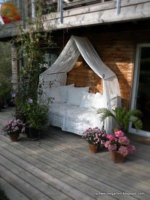 Ein Schweizer Garten: Das Gartenbett