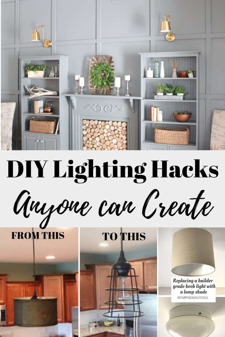 Simple Diy Lighting Ideas And Updates Anyone Can Create For The