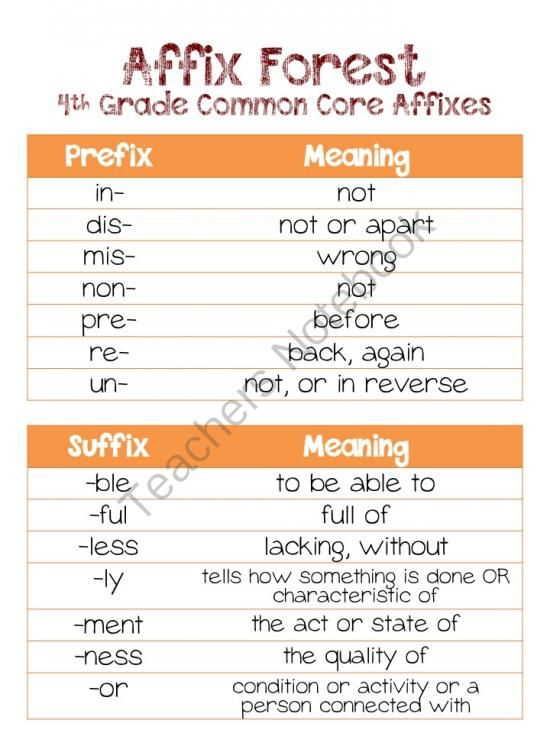 prefix and suffix worksheets middle school