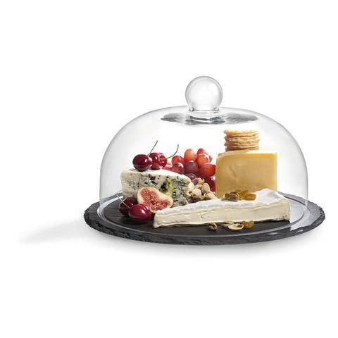 Glass Dome with Slate Board   Kmart