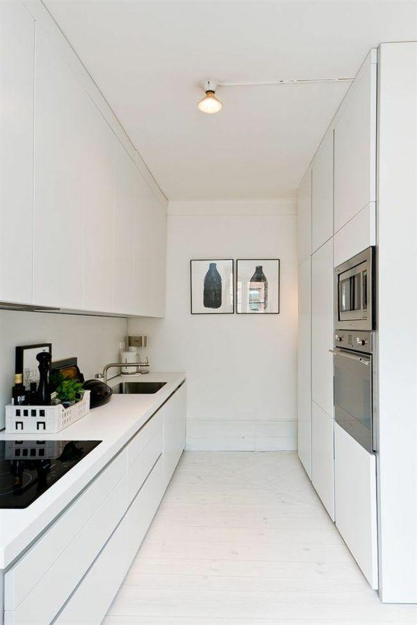 küche einrichten minimalistische küchenideen