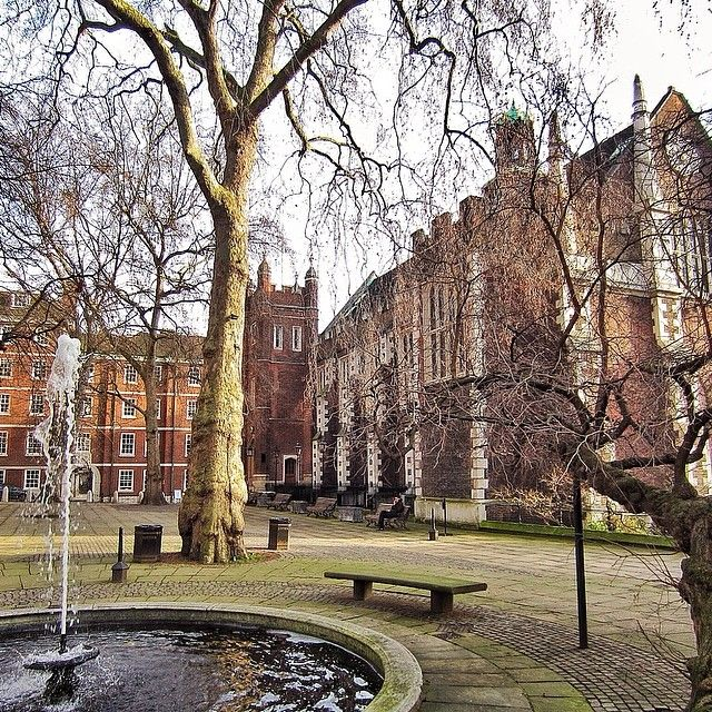 Middle Temple Hall from Fountain Court