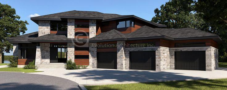 Evolution Architecture,modern house,exclusive creation E-820