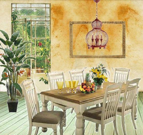 La porta sul giardino collage virtuale di Mirella Parer