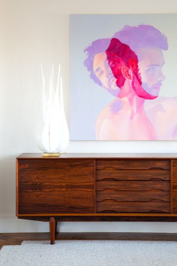 Christine-Dovey-Pine-Living-Room-1-rosewood-SideBoard-portrait-Artwork1