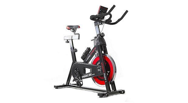 ¡Chollo! Bicicleta de spinning de Fitfiu barata 159 euros - 73% descuento - http://www.clubchollos.com/chollo-bicicleta-spinning-fitfiu-barata/ - Si en algunas ocasiones no puedes acudir a tus clases de spinning en el gimnasio o si prefieres sudar la gota gorda en la intimidad de tu hogar, esta bicicleta de spinning de Fitfiu te va a venir como anillo al dedo. Y tampoco te vas a tener que gastarte un dineral, ya que la podrás conseguir con u...