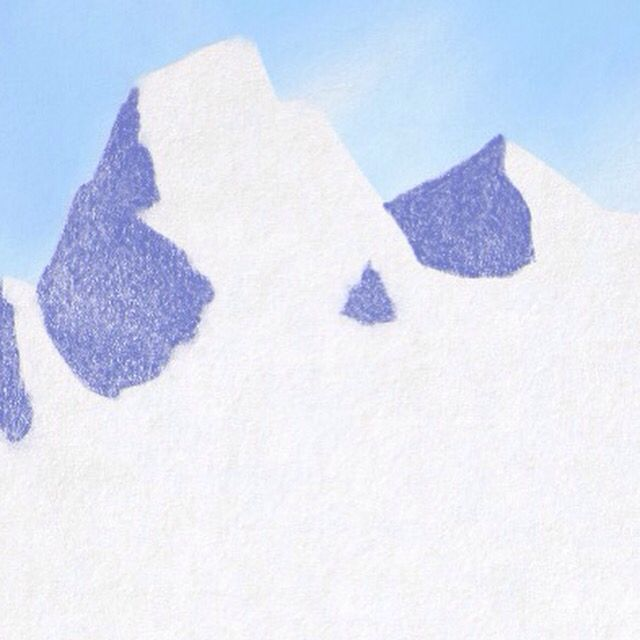 Snow Covered Mountains  Created in Graphite app