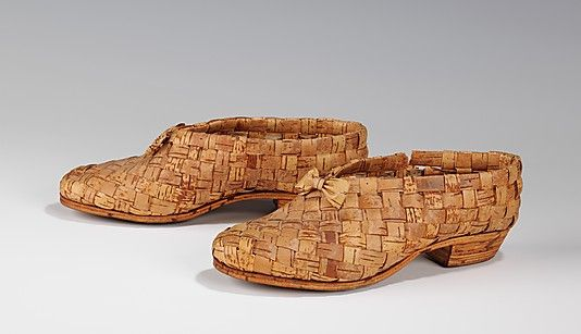 1930's Finnish Birch Bark Shoes