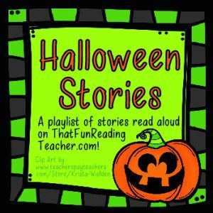 6 Halloween Stories read aloud!  Watch these 6 videos with your students for Halloween.  There also some free Halloween downloads as well as more great book suggestions for October.  Watch these videos and get your FREE download at:  http://thatfunreadingteacher.com/halloween-stories/