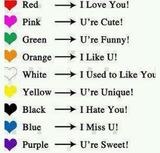 PURPLE is at the BOTTOM of the page which means Ur'e sweet well guess what it should mean I LOVE U if u r with me u will comment U BETTER COMMENT