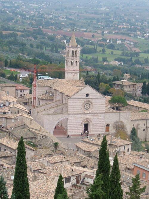 Church Santa Chiara, Assisi, Italy