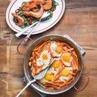 Süßkartoffel-Pfanne mit Ei | BRIGITTE.de