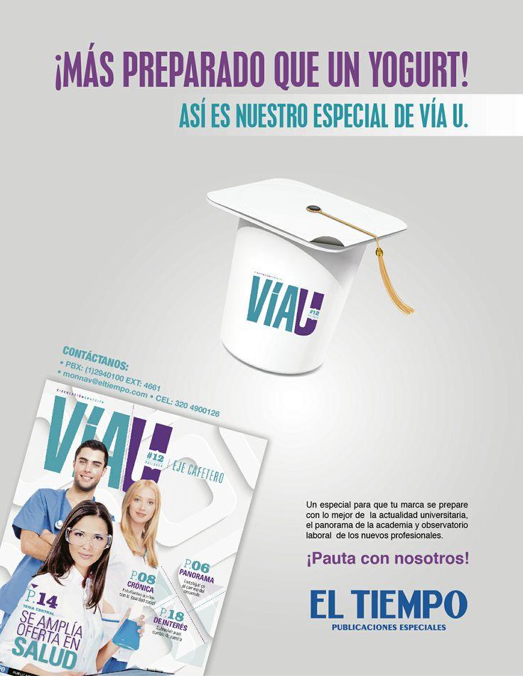 Publicaciones Especiales El Tiempo Casa Editorial Auto-pauta - Revista Vía U. 2014