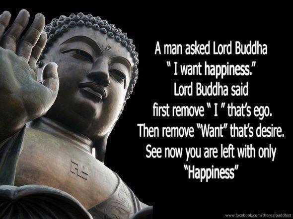 Buddha on happiness.