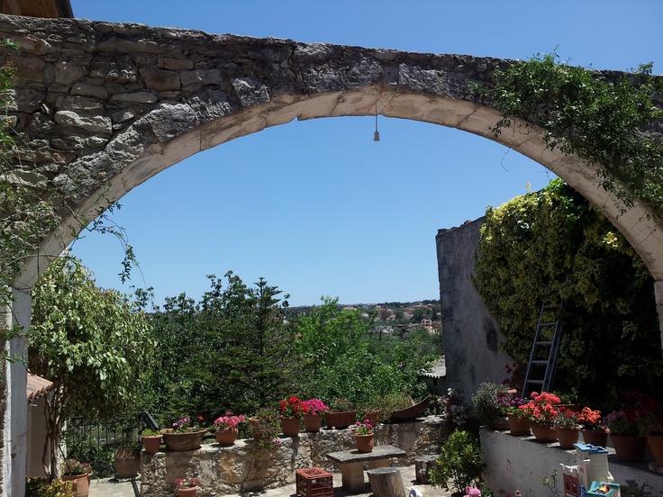 Vamos, Crete, Greece - Gary's great grandfather's house - May 2012
