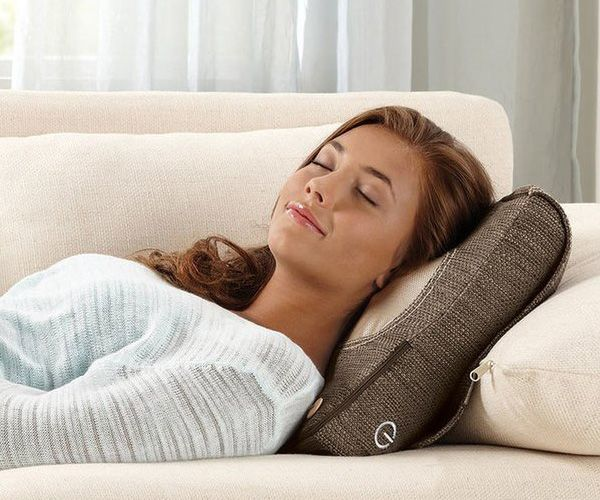 Experience total #relaxation whenever and wherever you need with the Shiatsu Massage #Pillow.