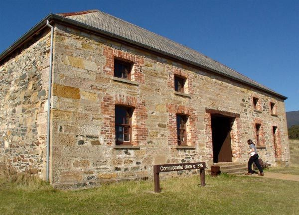 World Heritage Listed Convict Sites - Darlington, Maria Island. Photo by Dan Fellow, article for www.think-tasmania.com