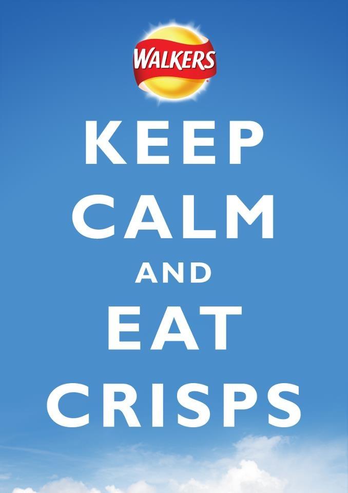 Walkers crisps...NOT chips!!!
