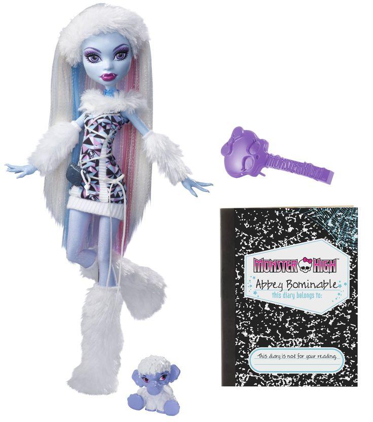 14 best Monster High Abbey Bominable images on Pinterest  Monster