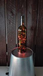 LED-valonauha 20 LED, pinkki, paristokäyttöinen; Crystal Decors | Rellunkulma.fi verkkokauppa