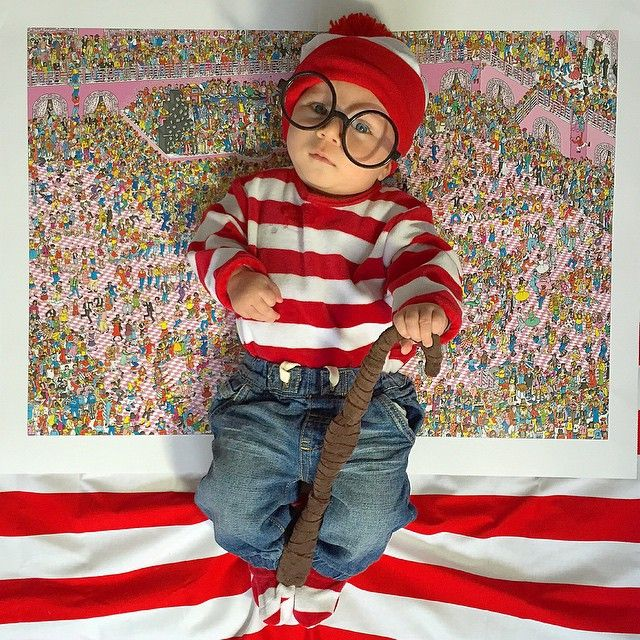 Where's Wally? #Halloween costume ideas for #baby