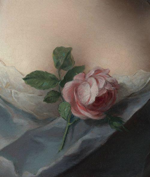Jean-Marc Nattier, Manon Balletti (detail)  1757