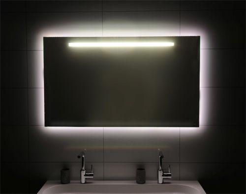 Spiegel met led verlichting   vidre glastoepassingen   Leiden
