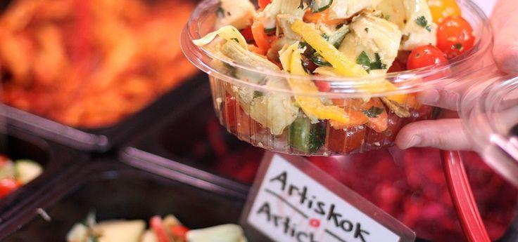 Chilimili er sunde retter og salater i hjertet af København