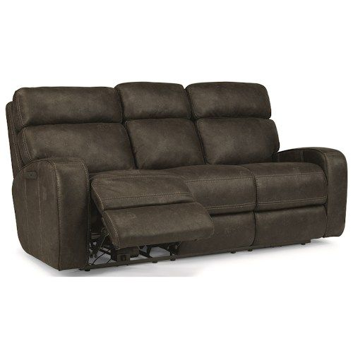 Flexsteel Latitudes Tomkins 1326 62PH Reclining Sofa | Northeast Factory  Direct | Reclining Sofa