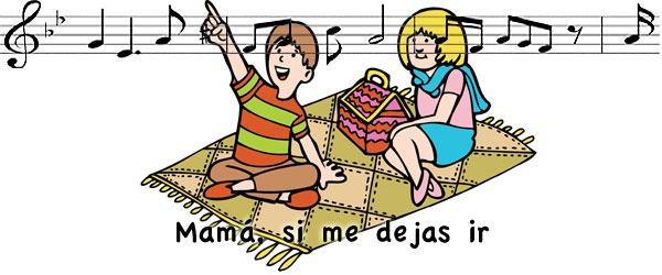 Mamá si me dejas ir. Canciones infantiles para niños y bebés.