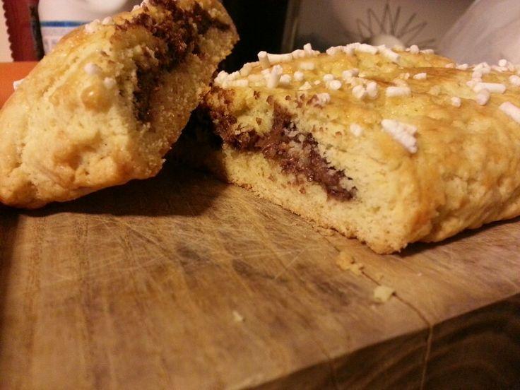 ciambella alla nutella di Chioggia! Dolce super buono la chiamano ciambella ma non ha il buco, facilissima e veloce da preparare :)