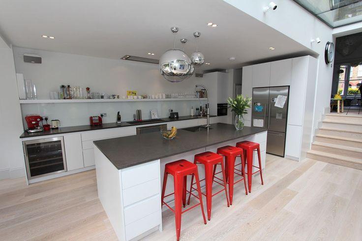 Neil Norton Design Handless Urban Kitchen