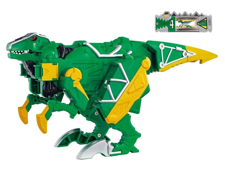 Power Rangers Dino Charge Zord:  Kyoryuger Zactor (Power Rangers Toys)