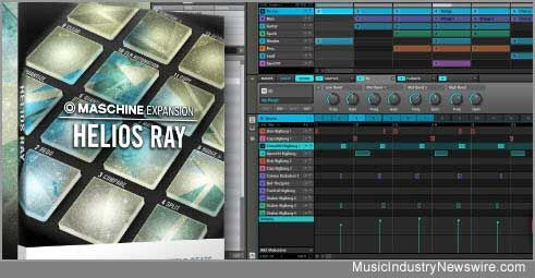 Helios Ray expansion for Maschine announced by Native Instruments covers Broken Beat scene - Music Industry Newswire