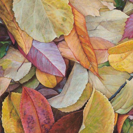 dan bacich leaf painting.