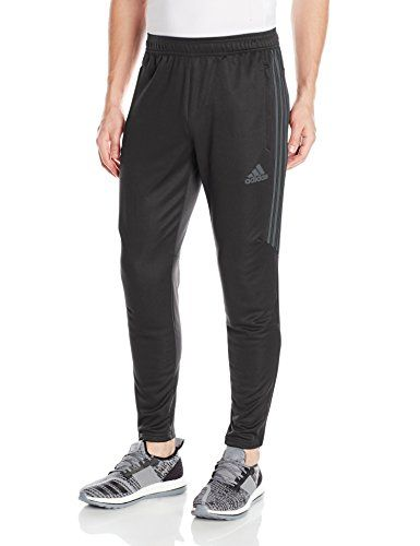 adidas Men's Soccer Tiro 17 Pants Medium Black/Dark Grey