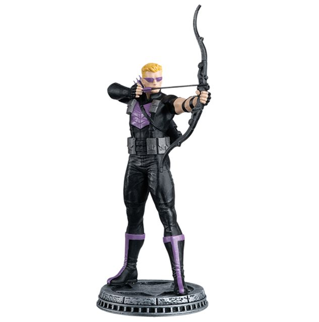 Hawkeye (White Pawn) | Marvel Chess | Eaglemoss Collections