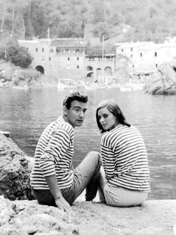 Lucia Bosé, Walter Chiari - San Fruttuoso 1953