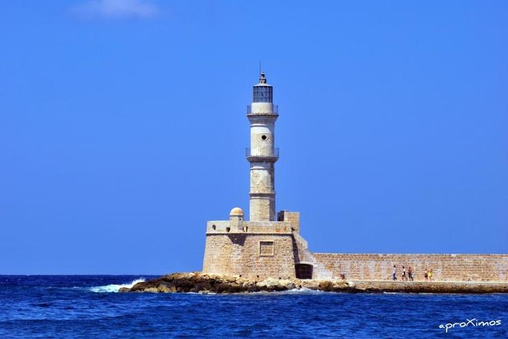 Lighthouse, Chania