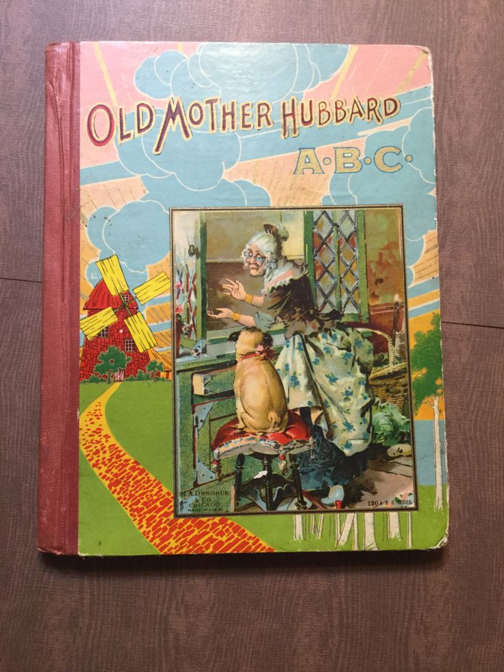 Old Mother Hubbard ABC Book, Vintage Old Mother Hubbard Book, Vintage Children Book, Vintage ABC, Antique Children Book, Vintage Primer by VintageMetalsReborn on Etsy https://www.etsy.com/listing/491607774/old-mother-hubbard-abc-book-vintage-old
