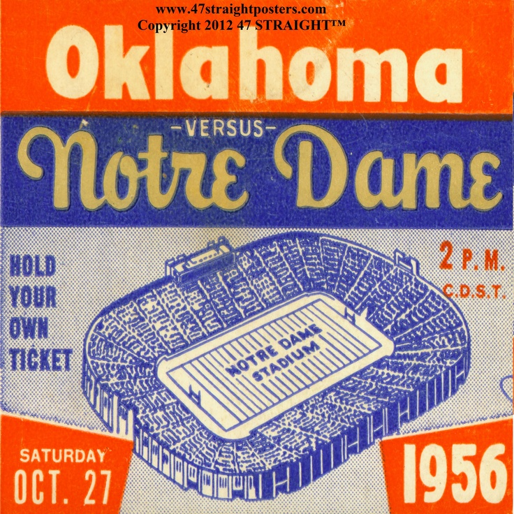 330 best Notre Dame Football History images on Pinterest | Notre ...