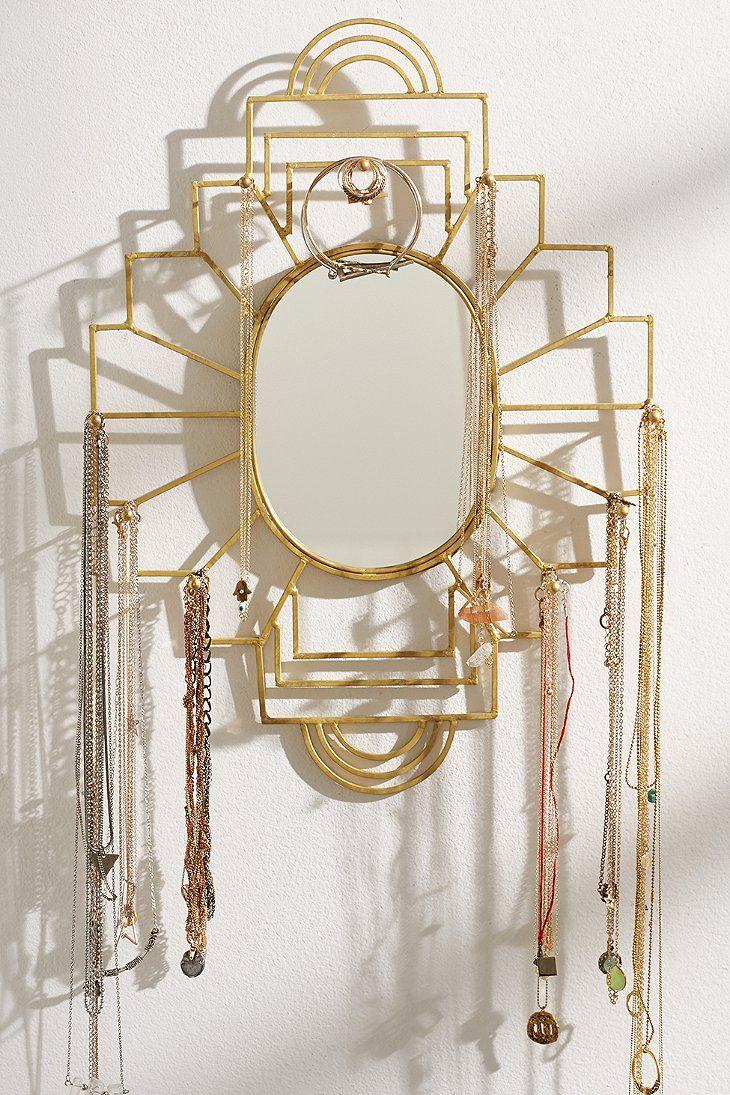 Plum & Bow Jewelry Organizer Mirror