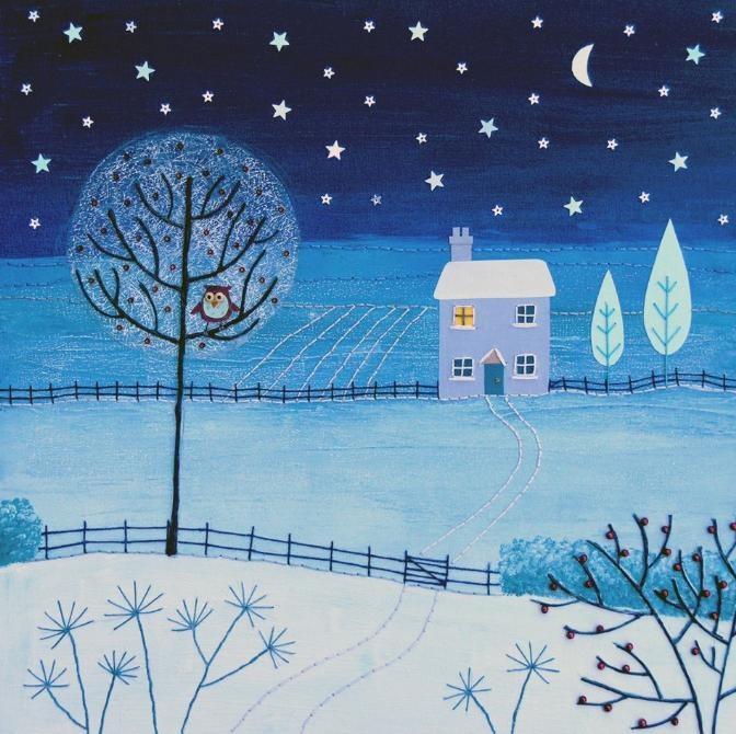 "UK ~ ""Silent Night"" ~ by Josephine Grundy"