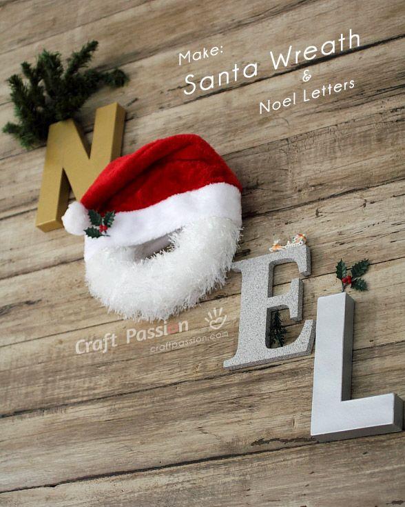 make-chirstmas-santa-wreath