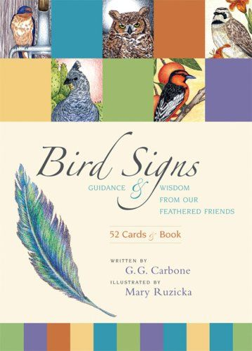 Bird Signs: Guidance and Wisdom from Our Feathered Friends (Book & Cards)