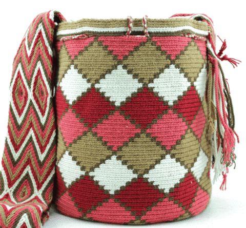 Buy your beautiful, unique Wayuu mochila bag now from How to Bogotá's online…