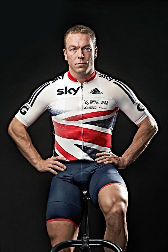 Adidas 2013 Great Britain jersey Sir Chris Hoy 2