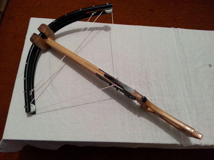 DIY PVC compound crossbow Part 1/3