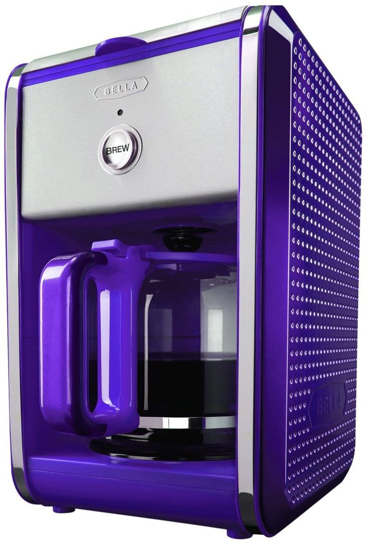 Kitchen small appliances stores - Bella Dots Collection 12 Cup Coffee Maker Purple 39 95 Total Best Price Guarantee Small Appliancescoffee